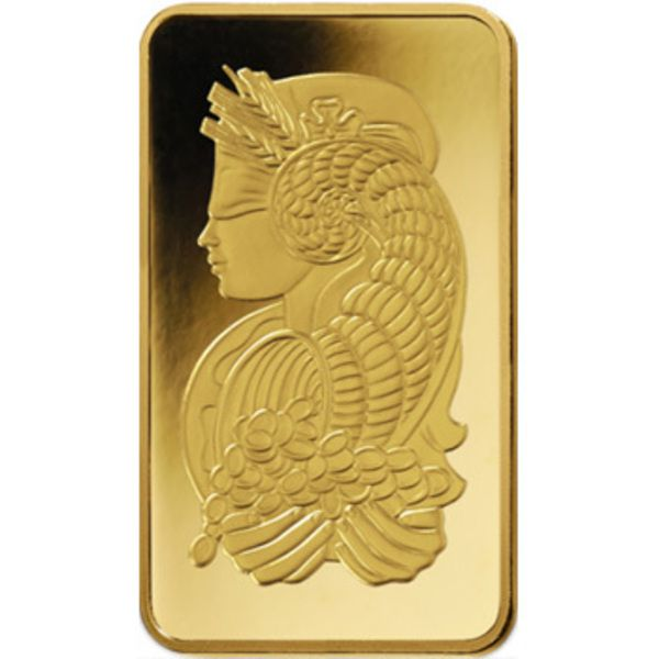 PAMP Fortuna Gold Ingot 10gm Image