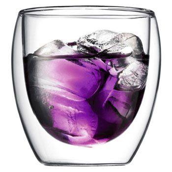 Bodum PAVINA Double Walled Glass 0.25 lt (2 pcs)