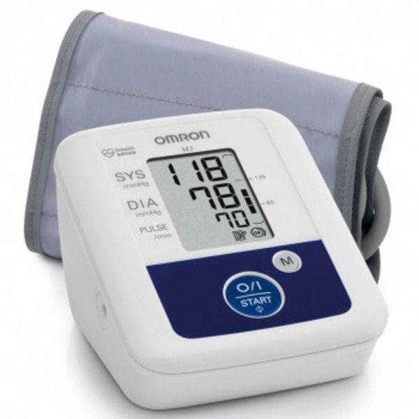 OMRON M2 Basic Blood Pressure MonitorImage