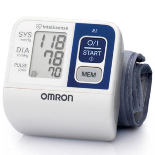 OMRON R2 Wrist Blood Pressure Monitor Image