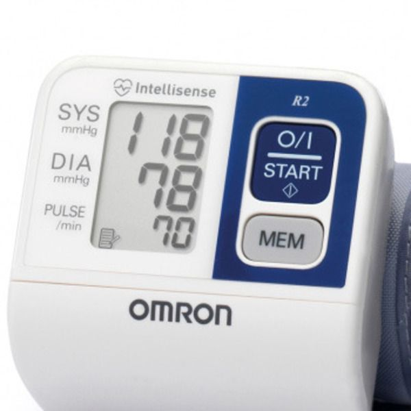 OMRON R2 Wrist Blood Pressure MonitorImage