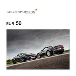 Golden Moments Experience Voucher €50