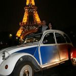 2CV Tour of Paris by Night for Two