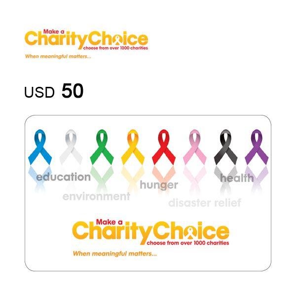 CharityChoice Donation Gift eCard $50