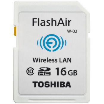 Toshiba FlashAir™ II Wireless SD Card, 16GB