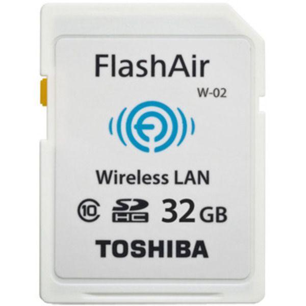 Toshiba FlashAir™ II Wireless SD Card, 32GBImage