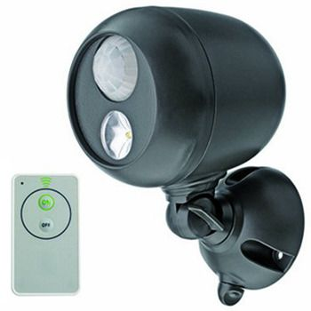 Mr Beams™ Motion-Sensor LED Spotlight + Remote