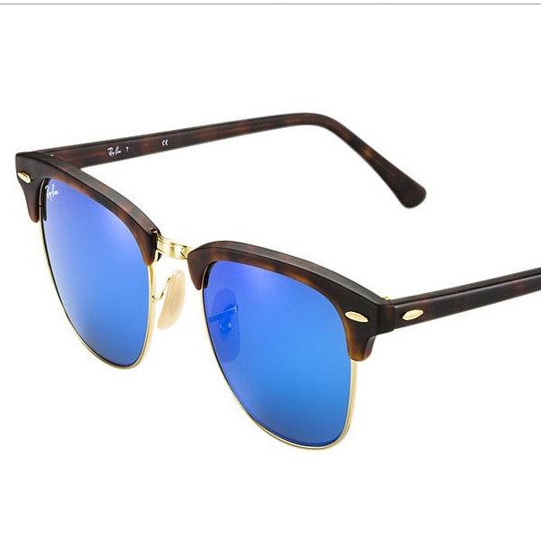Ray-Ban CLUBMASTER RB3016 Sunglasses TortoiseImage