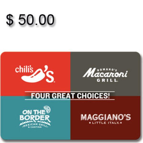 Brinker 4-Choice Gift Card, $50Image