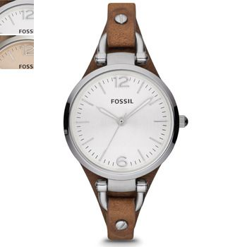 Fossil GEORGIA Silver-Tone Ladies Watch