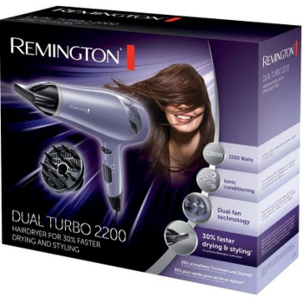 Remington Dual Turbo Hair Dryer 2200WImage