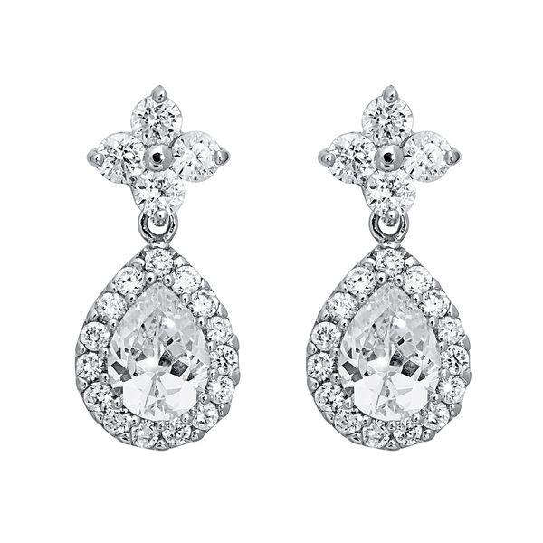 Pica LéLa Crystal Tear Drop Earrings Image