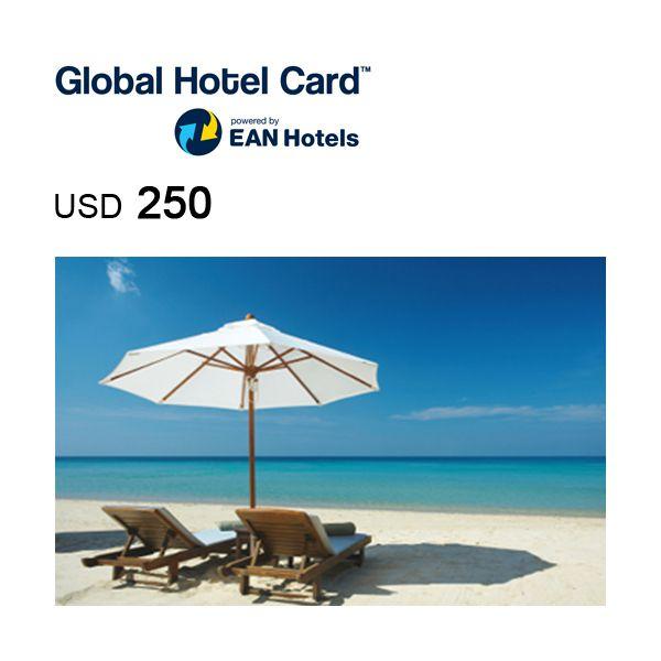 Global Hotel Card e-Gift card USD250