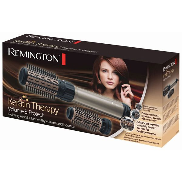 Remington Keratin Therapy & Protect Rotating Airstyler AS8090