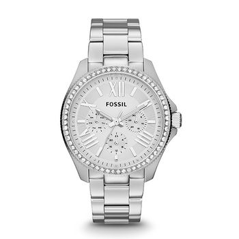 Fossil CECILE Ladies Multifunction Watch, Silver