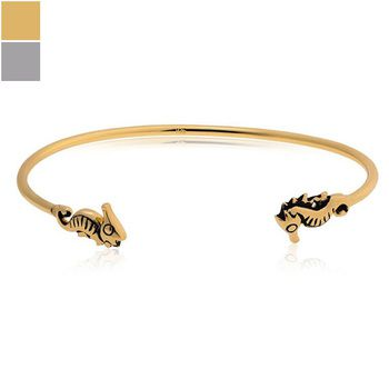 Mia's Sea Horse Bangle