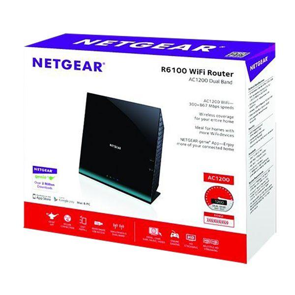 Netgear Dual Band Wi-Fi Router AC1200Image