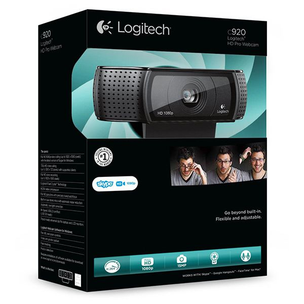 Logitech HD PRO Webcam C920Image