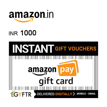 Amazon.in Digital Gift Voucher INR1000