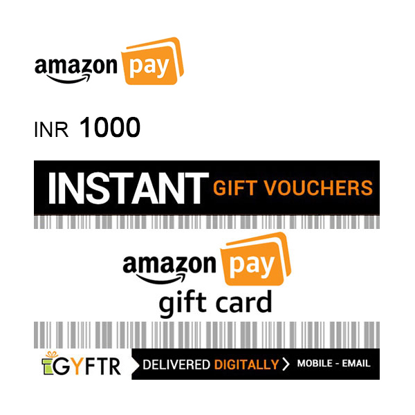 Amazon Pay Gift Card INR1000 Image