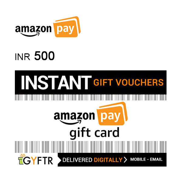 Amazon Pay Gift Card INR500Image
