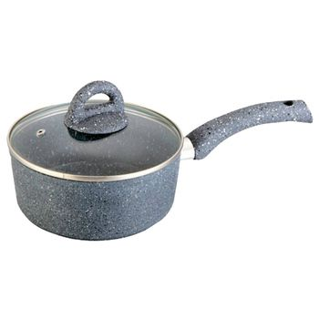 Wonderchef Granite Sauce Pan with Lid 18cm