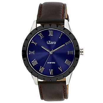 tZaro Mens Wrist Watch Blue