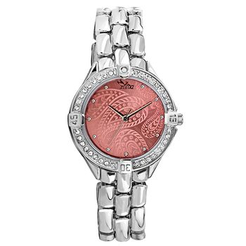 ILINA Ladies Stainless Steel Watch Pink