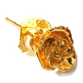 excitingLives Gold Plated Rose