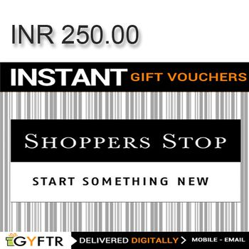 Shoppers Stop GyFTR Instant Gift Voucher INR250