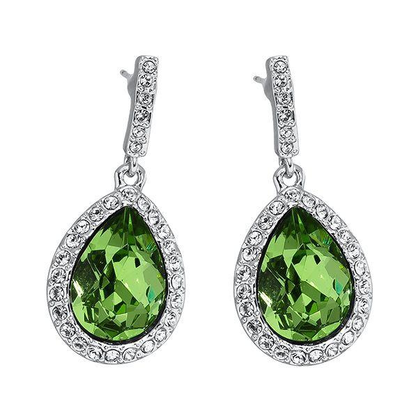Pica LéLa ROYAL Peridot Drop Earrings Image