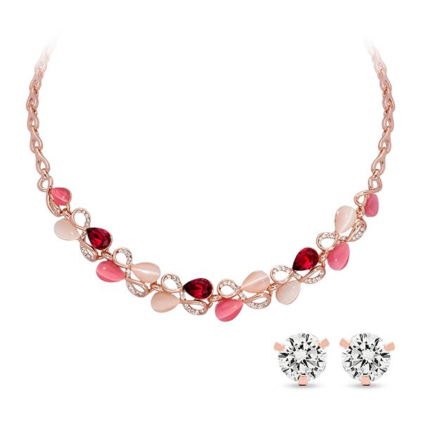Pica LéLa ROSA Statement Necklace & Earring Set