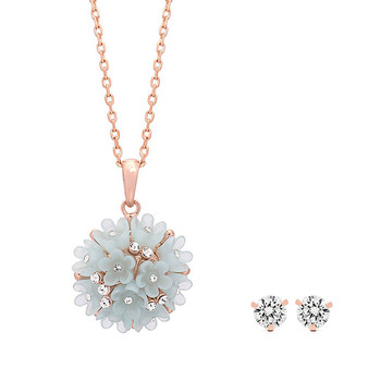 Pica LéLa Spring Blossom Necklace with Starlight Earring