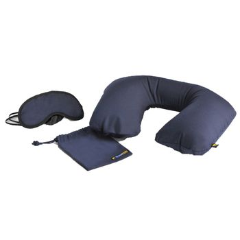 Travel Blue Sleep Set