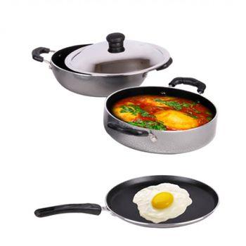 Maple Trellis CELEBRATION Cookware Set 3pcs