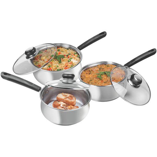 Maple Cook & Serve Set 3pcs Image