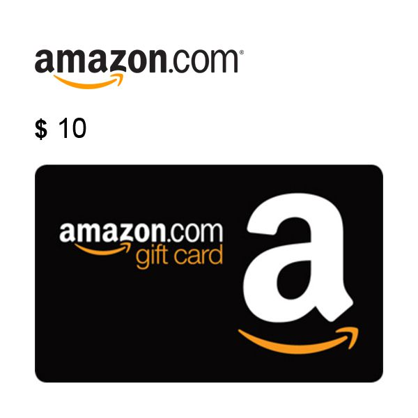 $10 Amazon.com Gift Card Claim CodeImage