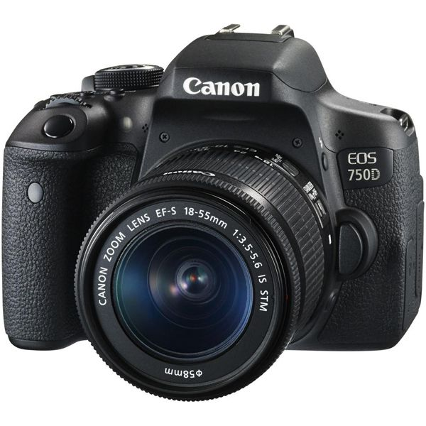 Canon EOS 750D DSLR Camera 18-55 IS STM Lens KitImage