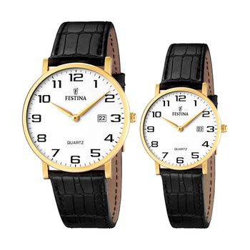Festina CLASSICS Unisex Watch with Leather Strap