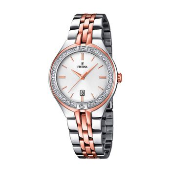 Festina MADEMOISELLE Bi-Color Ladies Watch with Zircons