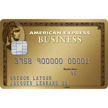 American Express Gold Business Card (Zusatzkarte)