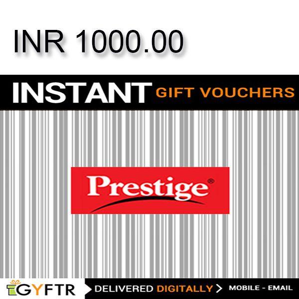 Prestige GyFTR Instant Gift Voucher INR1000 Image