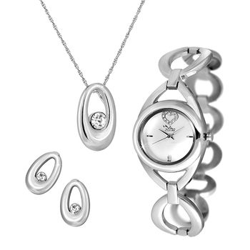 ILINA Ladies Watch & Pendent Set Gift Pack