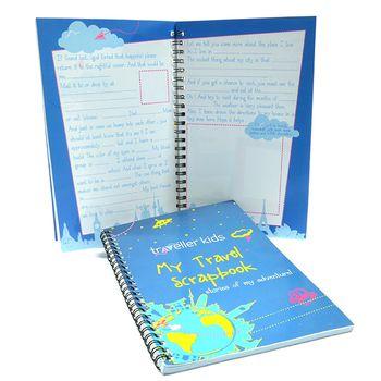 CocoMoco Kids Travel Scrapbook