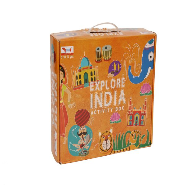 CocoMoco Kids India Box Game Kit Image