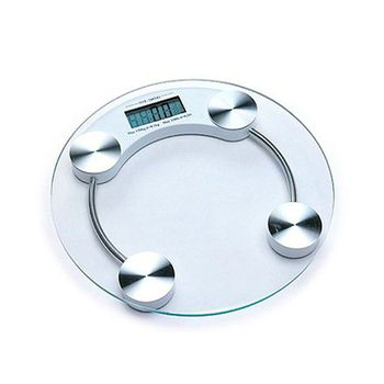 SarahCare Thick Glass Digital Weighing Scale