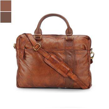 Teakwood MB33 Leather Laptop Bag