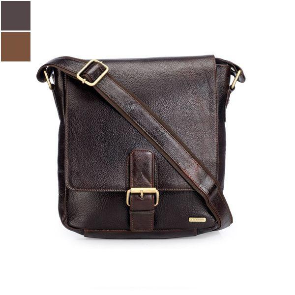Teakwood MB37 Unisex Leather Sling Bag Image