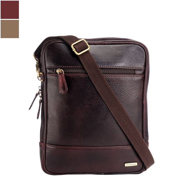 Teakwood MB39 Unisex Leather Sling Bag Image