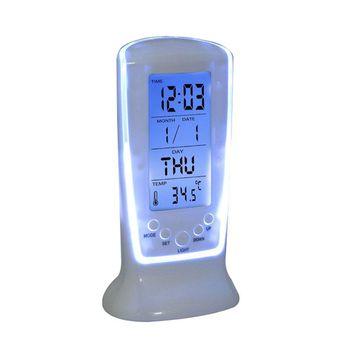 Power Plus BACKLIT Table Clock
